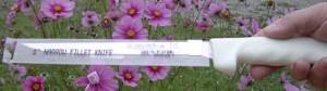 The Dexter-Russell S133-8 fillet knife