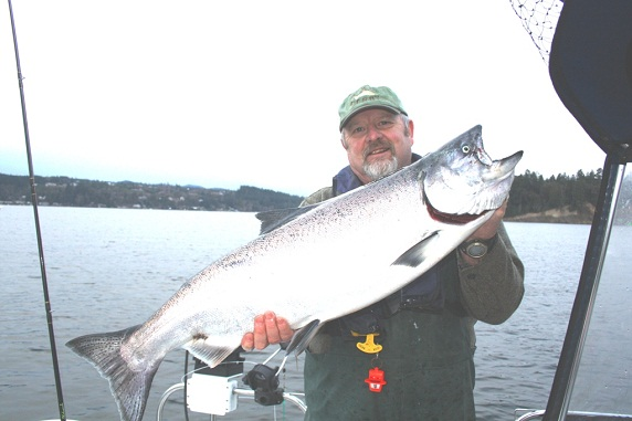 Winter blackmouth fishing puget sound for Sound bound fishing