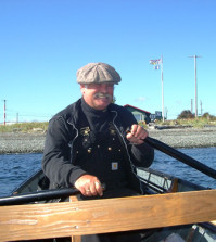 Rowing for Tyee in Campbell River, B.C.