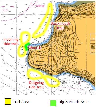 Owen sound fishing map