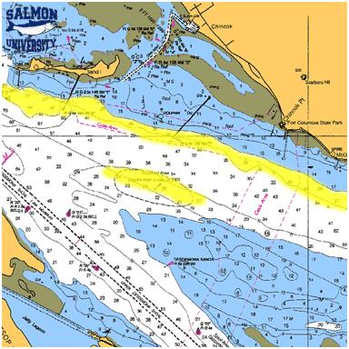 Westport to the columbia salmon university for Deep sea fishing bay area