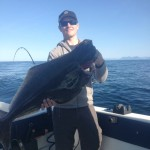 May 8TH, Guide Scott with a nice halibut
