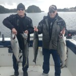 May 11TH, Dan and Daniel Bowes with 4 Chinook