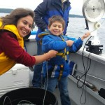 "Floyd Holman and his Sister running the gear in the ""Kidliest Catch"". Lifejackets, check. Watchful eye from the adults, check. Ear to ear grins and memories being made…double check."