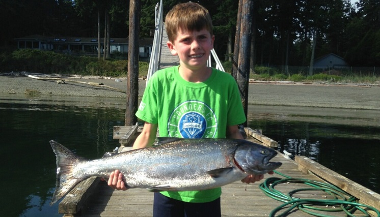 Kaden with a nice Marine Area 7 King.