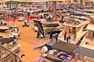 The Seattle Boat Show, the west coast's largest, runs until February 6 at the Century Link Event Center.