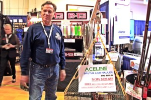 Ace Line Hauler has been as popular at the Boat Show as it is on the water.