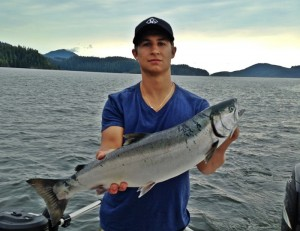 Coho salmon fishing in Barkley Sound in August and September is often spectacular