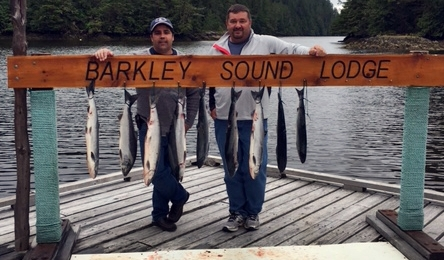 Sockeye salmon landed by Geoff and Cliff from Tswassen B.C. All fish came from the Alberni Inlet