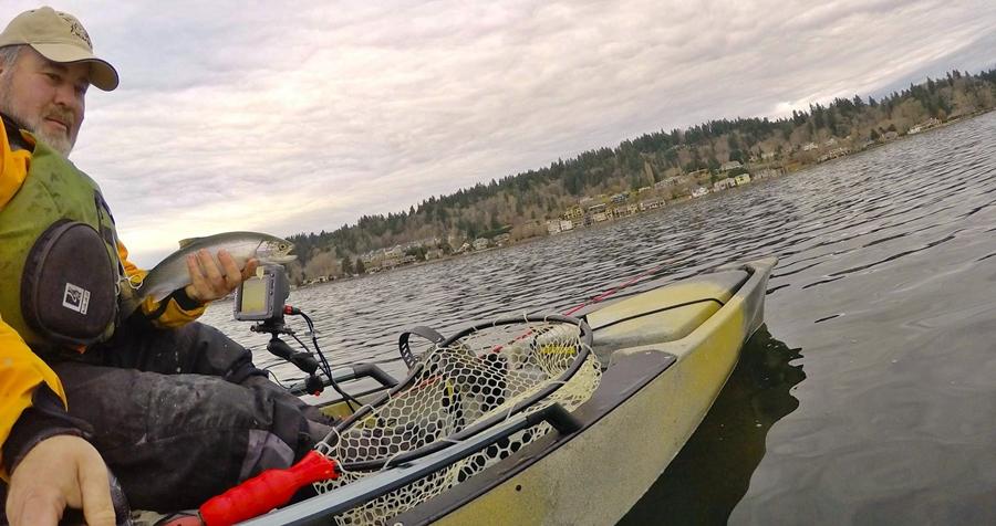 Fishing reports for december 28 salmon university for Lake sammamish fishing