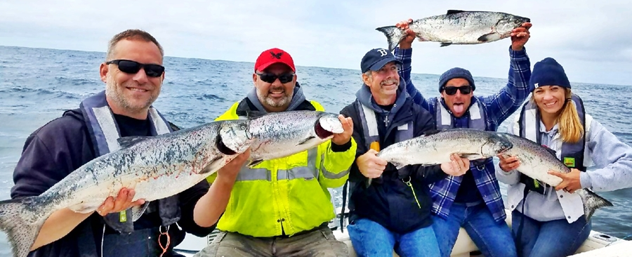 Fishing reports for july 5 salmon university for Westport wa fishing report