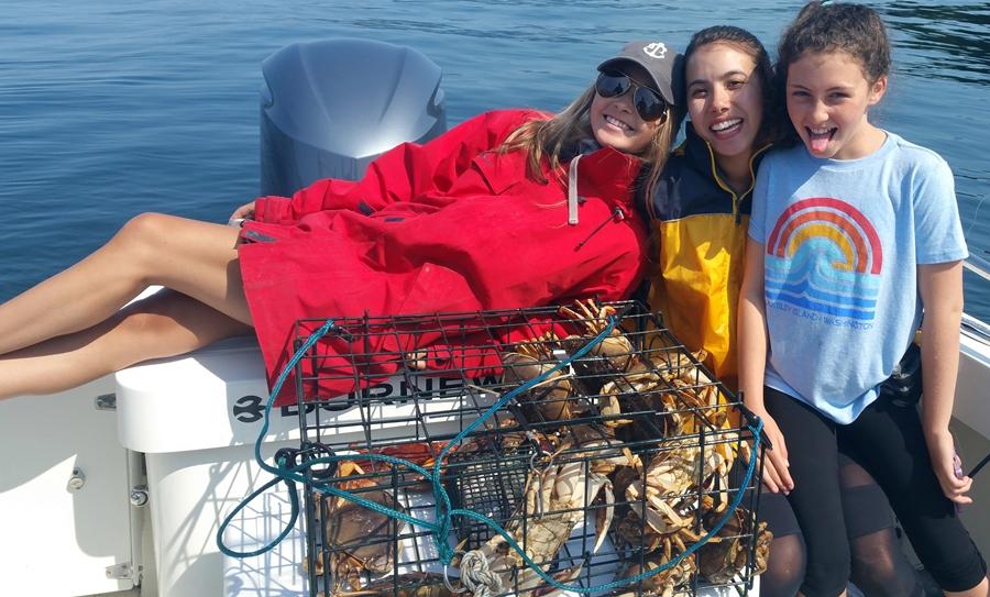 We got crab legs!